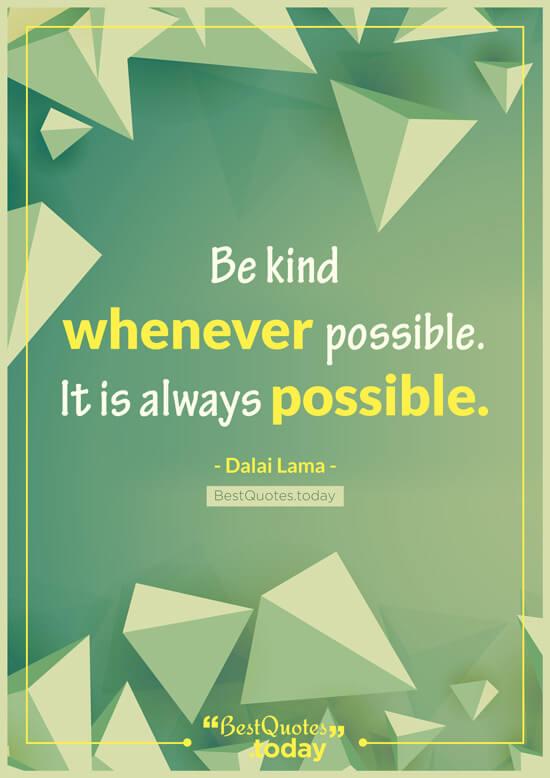 Humanity Quote by Dalai Lama