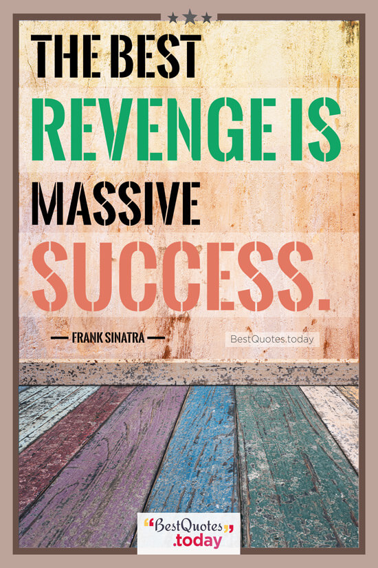 Success Quote by Frank Sinatra