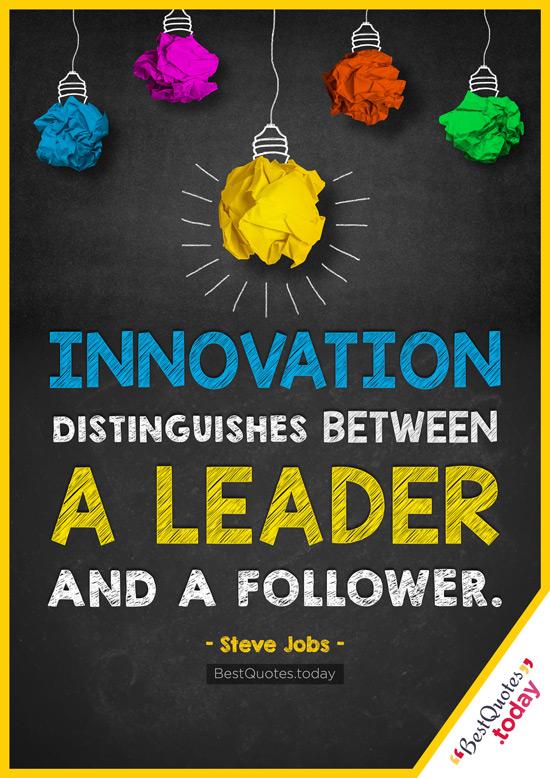 Leadership Quote by Steve Jobs