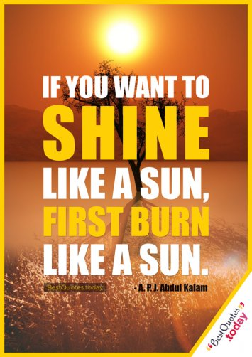 Life And Motivational Quote by A.P.J. Abdul Kalam