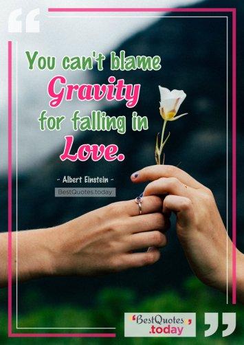 Love Quote by Albert Einstein