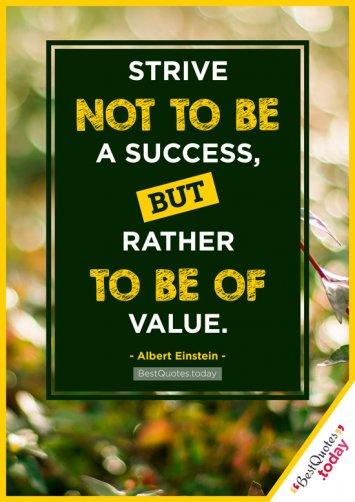 Success And Work Quote by Albert Einstein
