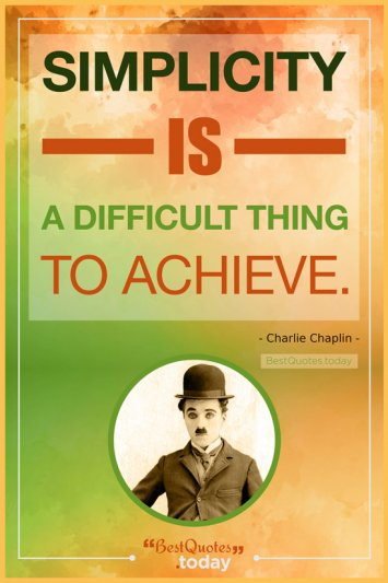 Life Quote by Charlie Chaplin
