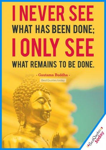 Motivational Quote by Gautama Buddha