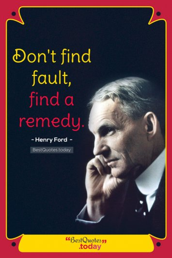 Inspirational Quote by Henry Ford