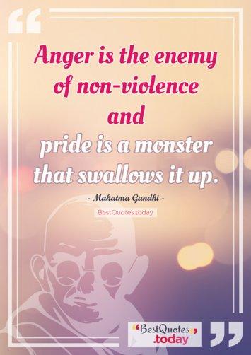 Life Quote by Mahatma Gandhi