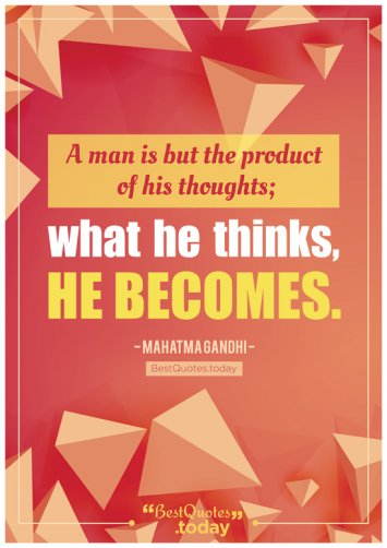 Philosophy Quote by Mahatma Gandhi