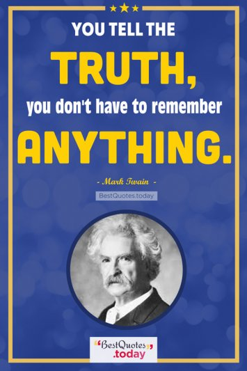 Truth Quote by Mark Twain