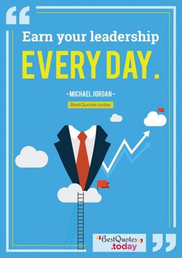 Leadership Quote by Michael Jordan