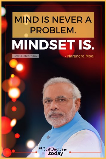 Philosophy Quote by Narendra Modi