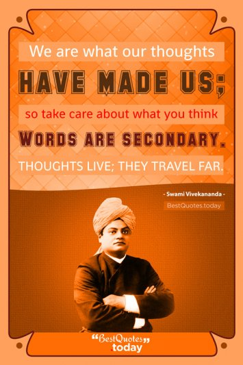 Action Quote by Swami Vivekanand