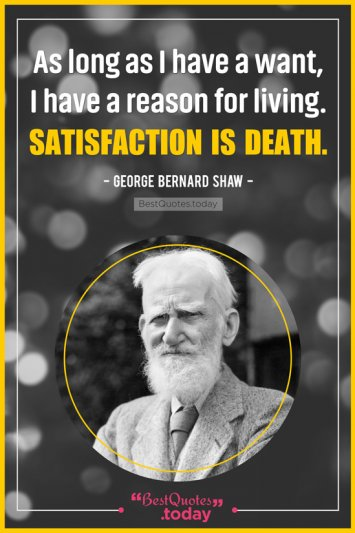 Inspirational Quote by George Bernard Shaw