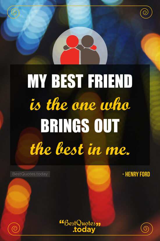 Friendship Quote by Henry Ford