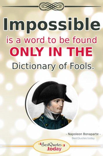 Life And Success Quote by Napoleon Bonaparte