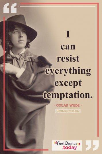 Wisdom Quote by Oscar Wilde