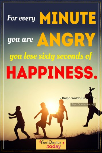 Happiness Quote by Ralph Waldo Emerson