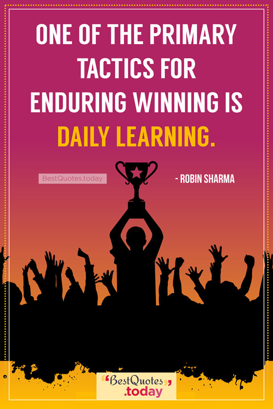 Inspirational Quote by Robin Sharma