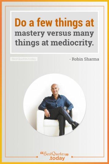 Wisdom Quote by Robin Sharma