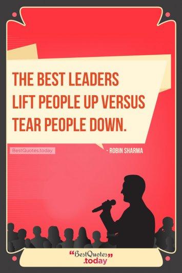 Leadership Quote by Robin Sharma