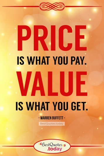 Business Quote by Warren Buffett