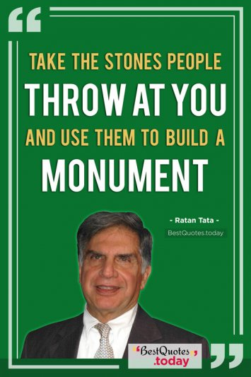 Inspirational Quote by Ratan Tata