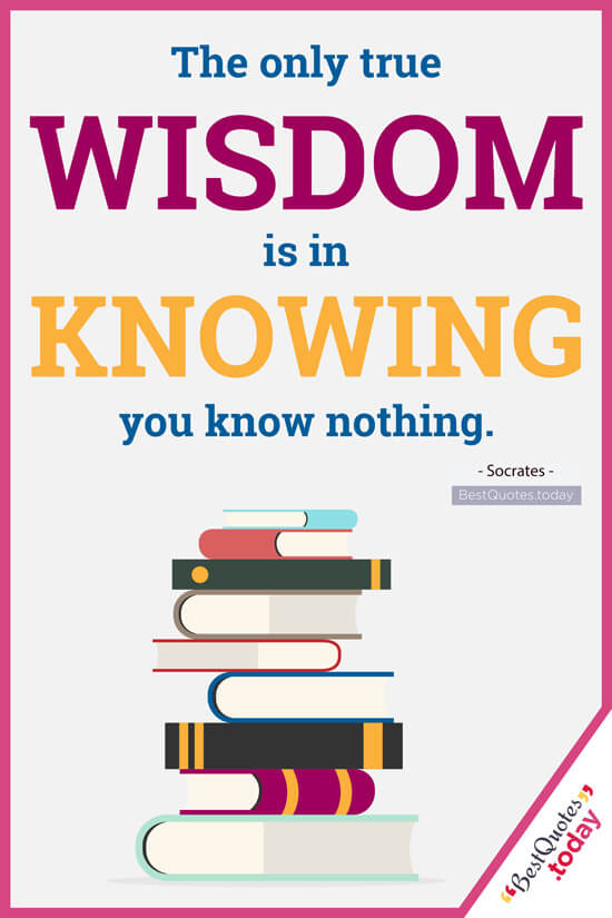Knowledge & Wisdom Quotes by Socrates