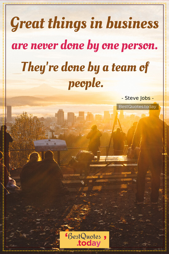 Business Quote by Steve Jobs