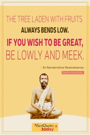 Motivational quote by Shri Ramakrishna Paramhamsa