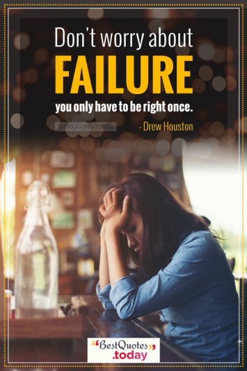 Failure Quote by Drew Houston