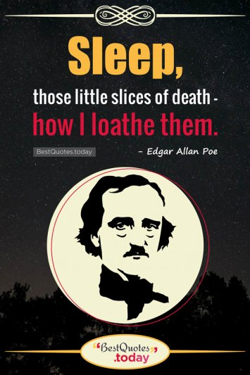 Death Quote by Edgar Allan Poe
