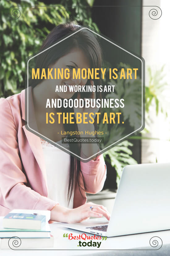 Business Quote by Andy Warhol