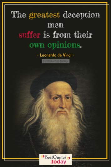 Miscellaneous Quote by Leonardo da Vinci