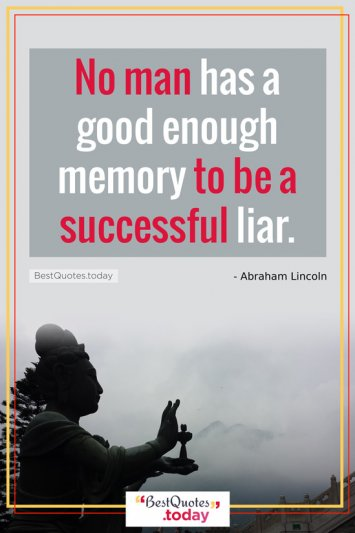 Funny Quote by Abraham Lincoln