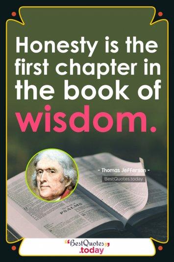 Wisdom Quote by Thomas Jefferson