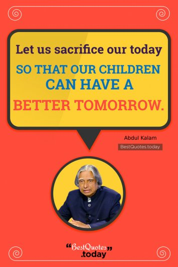 Motivational Quote by Abdul Kalam