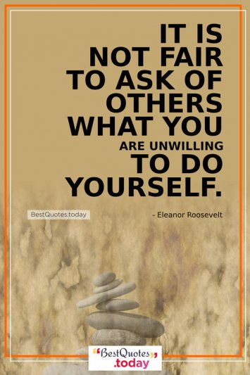 Philosophy Quote by Eleanor Roosevelt
