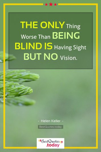Inspirational Quote by Helen Keller