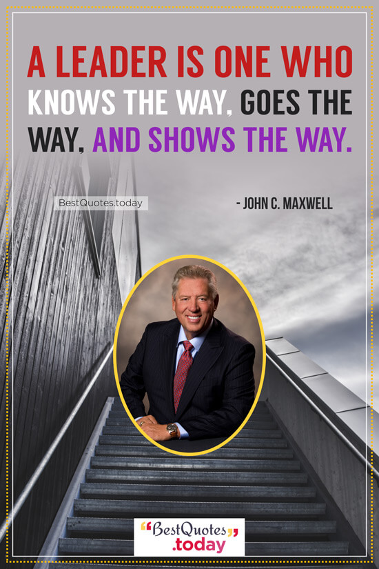 Leadership Quote by John C. Maxwell