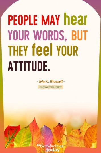 Attitude Quote by John C. Maxwell