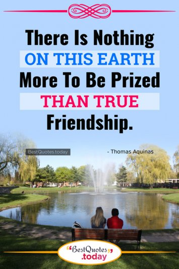 Friendship Quote by Thomas Aquinas