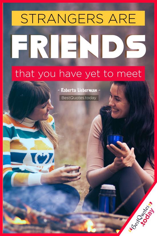Friendship Quote by Roberta Lieberman