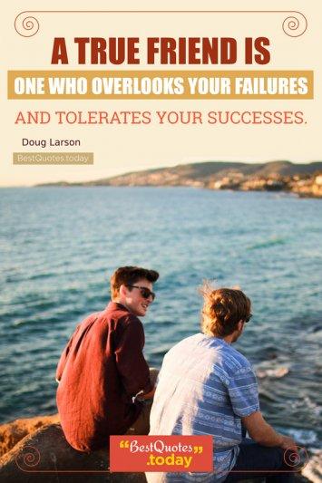 Friendship Quote by Doug Larson