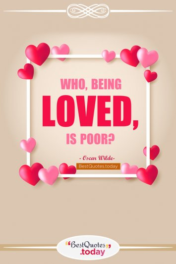 Love Quote by Oscar Wilde