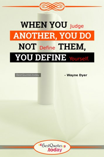 Inspirational Quote by Wayne Dyer