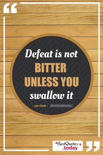 Motivational Quote by Joe Clark