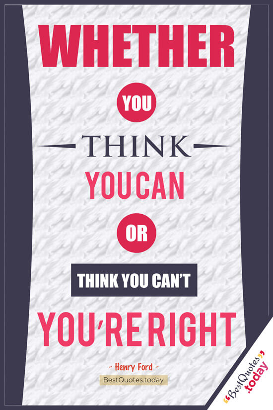 Confidence & Motivational Quote by Henry Ford