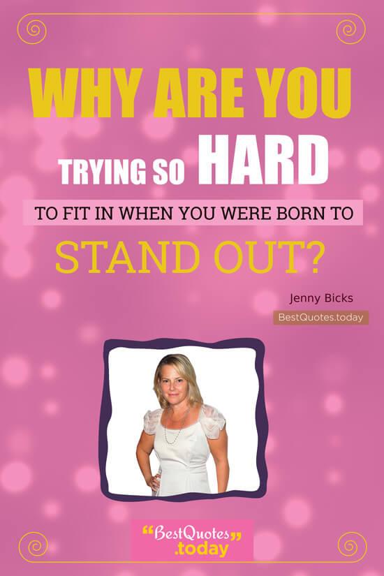 Motivational Quote by Jenny Bicks