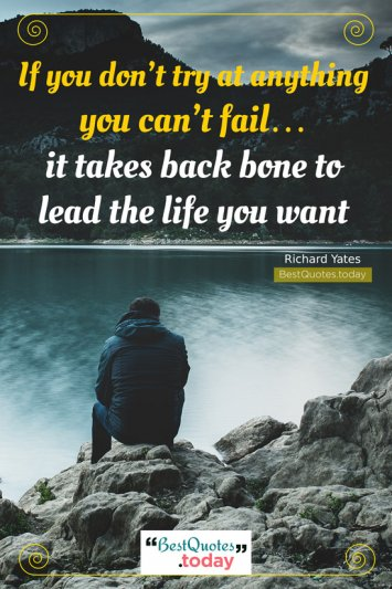 Failure & Life Quote by Richard Yates