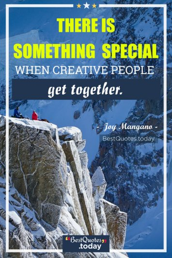 Together Quote by Joy Mangano