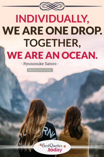 Together Quote by Ryunosuke Satoro